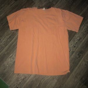Orange comfort color T-shirt